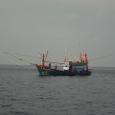 シミランの漁船