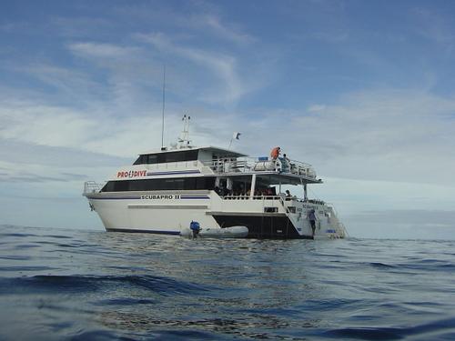 ダイビングクルーズ船