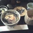 竹葉亭の鯛茶漬け
