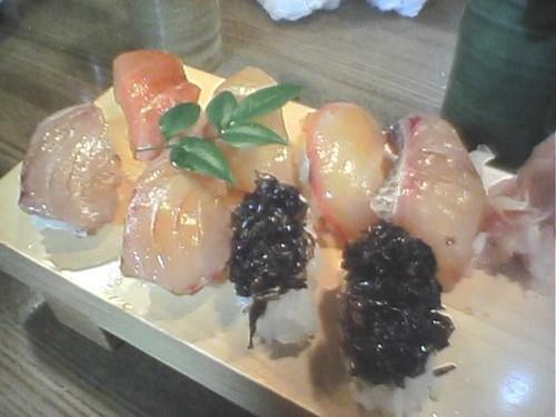 梁山泊の島寿司